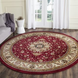 Safavieh Lyndhurst Collection Red/ Ivory Traditional Style Runner (23