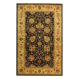Safavieh Antiquities AT21B Area Rug   Black   Area Rugs