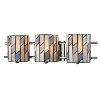 Radionic Hi Tech Twetton 3 Light 24 in. Polished Chrome Hand Rolled Art Glass Sconce DT_SC_TW12465_RHT