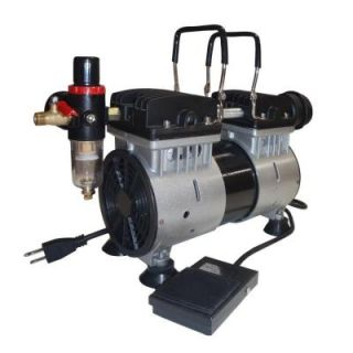 California Air Tools 1 HP Ultra Quiet and Oil Free Tankless Air Compressor DISCONTINUED TL10