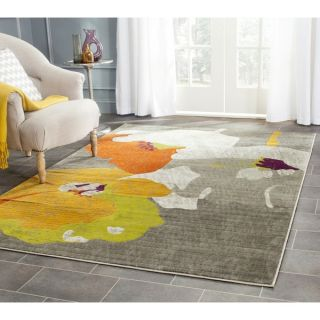 Safavieh Porcello Dark Grey/ Ivory Rug (3 x 5)   Shopping