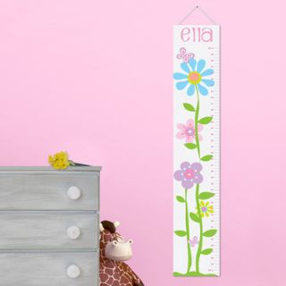 JDS Personalized Gift Kids Canvas Height Growth Chart