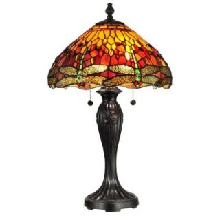 Radionic Hi Tech Tentelle 27.00 in. Fieldstone Hand Rolled Art Glass Table Lamp DT_TL_TT12269_RHT
