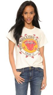 MADEWORN ROCK Rolling Stones 1978 Rock Printed Tee SAVE UP TO 25% Use Code GOBIG16