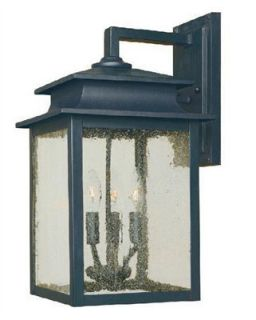 World Imports WI910642 Rust Outdoor Wall Light