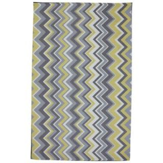 Mohawk Home Ella Zig Zag 8 ft. x 10 ft. Outdoor Printed Patio Area Rug 379957