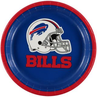 Buffalo Bills 8 Pack Lunch Plate Set