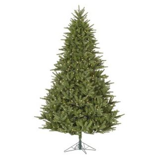 ft. Berkshire Fir LED Pre lit Artificial Christmas Tree   Warm