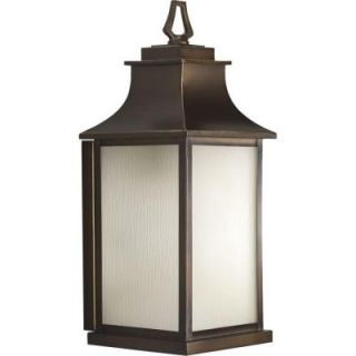 Progress Lighting Salute Collection Oil Rubbed Bronze 1 light Wall Lantern P5954 108