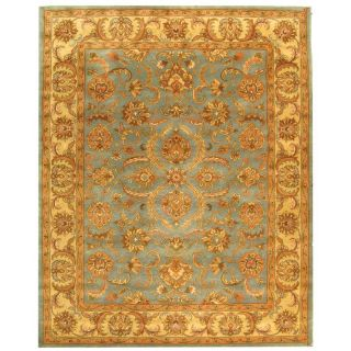 Safavieh Heritage Blue and Beige Rectangular Indoor Tufted Area Rug (Common 8 x 10; Actual 90 in W x 114 in L x 0.67 ft Dia)