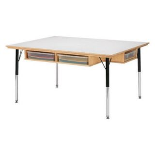 Jonti Craft 48 x 36 Rectangular Classroom Table