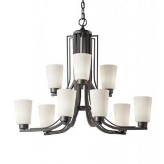 Weston 9 light Colonial Iron Chandelier