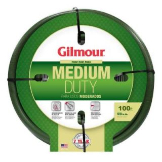 Gilmour 5/8 in. Dia x 100 ft. Medium Duty Water Hose 1558100HD
