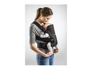 Babybjorn Baby Carrier We Black Cotton, Baby Shop, Black