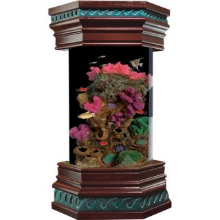 KollerCraft Ocean Treasures Collection 6 Gallon Executive Aquarium Kit