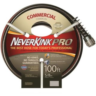 Teknor Apex Neverkink PRO Hose, 100, Black/Red