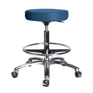 Perch Chairs and Stools Height Adjustable Swivel Stool with Foot Ring