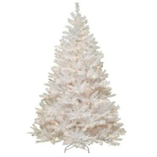 National Tree Company 7 ft. Winchester White Pine Artificial Christmas Tree with Clear Lights WCHW7 300 70