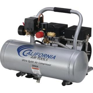 California Air Tools 2.0 Gal. 1/2 HP Ultra Quiet and Oil Free Aluminum Tank Air Compressor 2050A