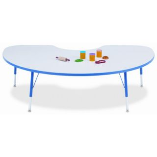 Jonti Craft KYDZ Suite 72 x 48 Kidney Activity Table   Side Finish