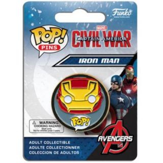 Marvels Captain America Civil War POP Pins Iron Man