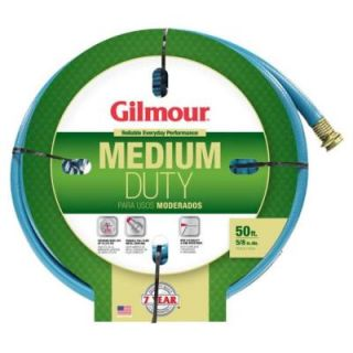 Gilmour 5/8 in. Dia x 50 ft. Medium Duty Water Hose 1558050HD
